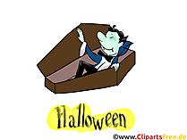 吸血鬼の写真、グリーティングカード、ハロウィーンへの招待状のテンプレート