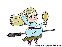 ハルツのWalpurgis Night  - 魔女の写真と漫画