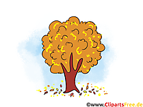 Gratis Bilder, Cliparts, Illustrationen zum Thema Herbst