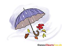 Illustratie Paraplu
