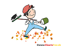 Little Gardener Illustration, Graphic, Comic, Cartoon, Clipart