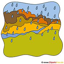 Regen illustraties - Gratis stockfoto's van de herfst