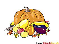 Schöne Bilder kostenlos - Herbst, Ernte, Gemüse und Obst