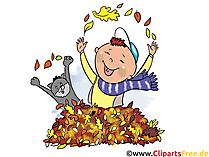 Witzige Bilder kostenlos zum Thema Herbst