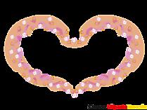Rahmen, Liebe, Valentine, Herzen Clipart