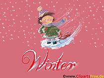 壁紙の男の子、冬、雪、クリスマス、大晦日