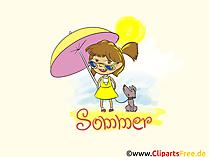 Obrazki na pulpit Lato, plaża, słońce, wakacje