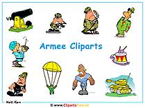 Clip Arts Army - tapeta na pulpit za darmo