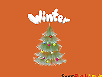 Download gratis kerstboom, winter, kerst