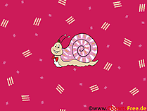 Hintergrundbilder HD Schnecke- Cartoon Wallpaper