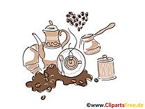 Tapeta na kawę za darmo na pulpit