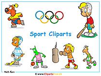 Sportowy klipart za darmo - obraz na pulpicie