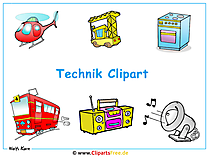 Download cliparts over technologie als achtergrond
