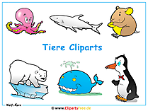 Wallpaper Tiere Cliparts