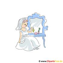 Braut Clipart - Hochzeit Bilder kostenlos