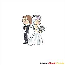 Brautpaar Karte