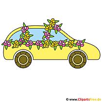Clipart indir Düğün Sedan