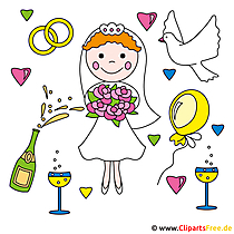 Düğün için ücretsiz resimler