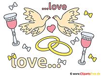 Düğün Clipart için tebrikler