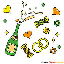 Graphic free Hochzeit