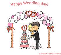 Düğün günün kutlu olsun küçük resim, eCard, çizgi film