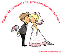Düğün deyişi - Bir öpücük ağzınızı kapalı tutmanın en güzel yoludur