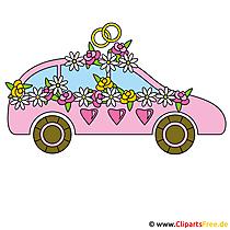 Düğün arabası resmi