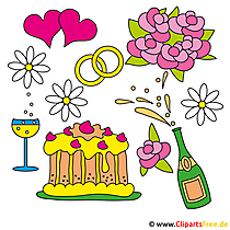 Wedding Themes Clipart Free