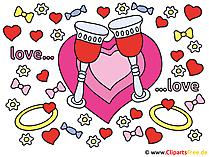 Düğün kupası resimleri