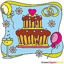 Düğün pastası resmi Clipart ücretsiz
