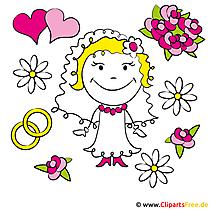 Puppe Braut Bild-Clipart