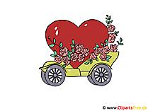 Düğün Araba Küçük Resim