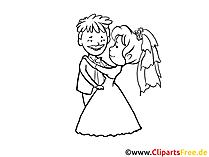 Düğün küçük resim siyah beyaz ücretsiz