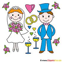 Düğün Clipart ücretsiz