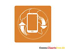 Mobiles Internet Icon