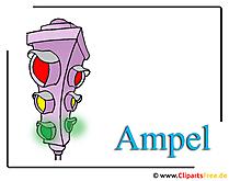 Ampel Clipart free