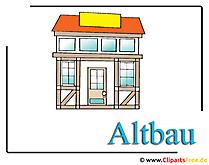 Fachwerkhaus Clipart-Bild free