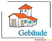 Gebaude Clipart-Bild
