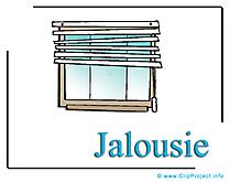 Jalousie Bild-Clipart free