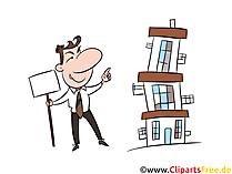 Mehrfamilienhaus Kauf Clipart, Illustration, Bild, Grafik gratis