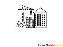 Bouwbedrijf clipart, afbeelding, tekenfilm, grafisch gratis