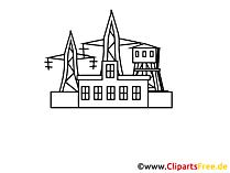 Energie, Strom Zeichnung, Grafik, Clipart, Bild