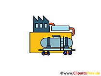 Olieraffinaderij Clipart, foto, tekenfilm, gratis grafisch