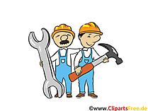 Handwerker - Industrie Bilder, Wirtschaft Illustrationen, Business Grafiken, Cliparts
