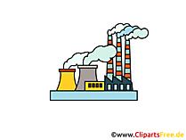 Industriezone Clipart, foto, tekenfilm, gratis grafisch