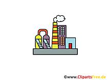Industrie illustraties en clipart gratis