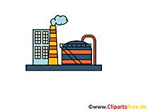 Industrie Unternehmen, Clipart, Bild, Cartoon, Grafik gratis