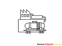 Logistik Flussigkeiten Clipart, Bild, Cartoon, Grafik gratis