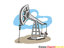 Ölförderpumpe Clipart - Industrie Bilder, Wirtschaft Illustrationen, Cliparts