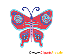 Clip Art Butterfly for free